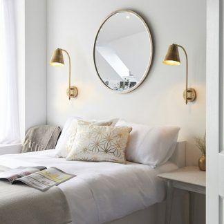 Kinkiet Radha do stylowej sypialni