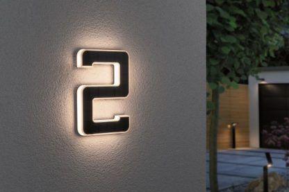 Kinkiet zewnętrzny jako numer domu - nr 2