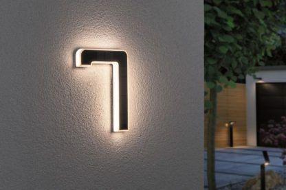 Kinkiet zewnętrzny jako numer domu - 7