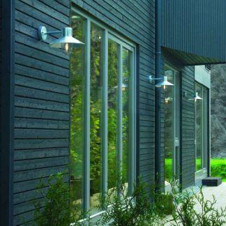 Kinkiet zewnętrzny Lund na elewację domu - IP55