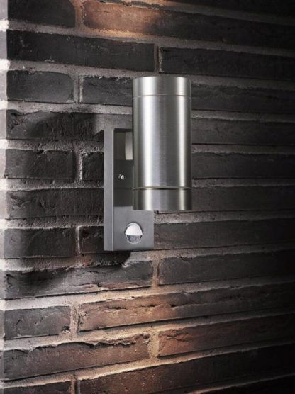 Kinkiet zewnętrzny Tin Maxi do oświetlenia numeru domu