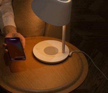 lampa biurkowa z ładowarką