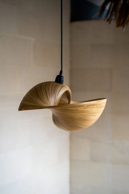 Lampa Bamboo Elle M w stylu boho