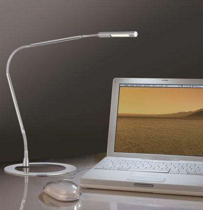 Lampa biurkowa Plaza do pracy w gabinecie