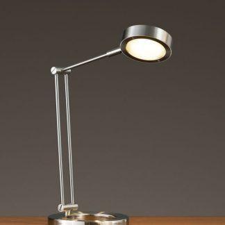 Lampa biurkowa Zed do nowoczesnego salonu