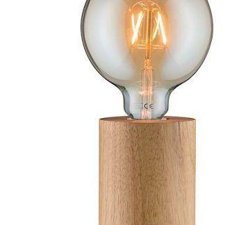Lampa drewniana Neordic Talin na stolik