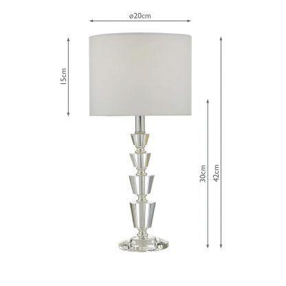 Lampa Kody na kominek w salonie