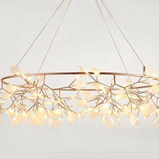 Lampa LED Botanic Chic do oryginalnej sypialni