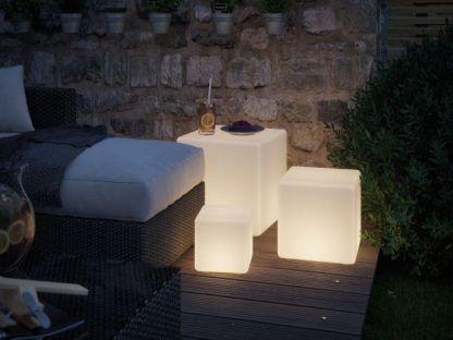 Lampa ogrodowa Cube jako piękna ozdoba