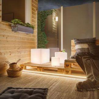 Lampa ogrodowa Cube M na taras