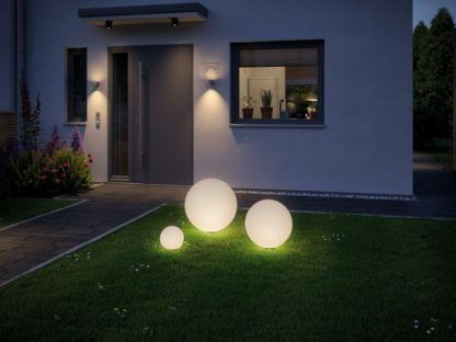 Lampa ogrodowa Globe - piękna kula świetlna na taras