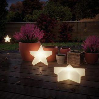 Lampa ogrodowa Star do ozdoby tarasu