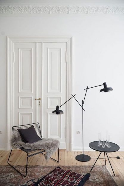 Lampa podłogowa Arigato Floor 2 do salonu