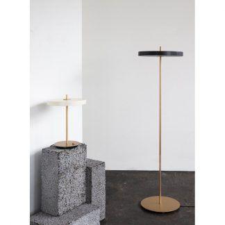 Lampa podłogowa Asteria do nowoczesnego salonu
