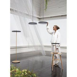 Lampa podłogowa Asteria do nowoczesnej sypialni