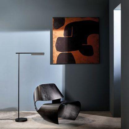 Lampa podłogowa Fold do nowoczesnej sypialni