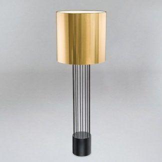 Lampa podłogowa IHI do eleganckiego salonu