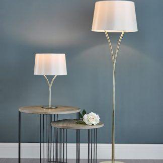 Lampa podłogowa Kinga do eleganckiego biura