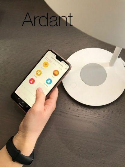 lampa biurkowa sterowana telefonem