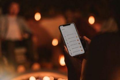 lampa na usb sterowanie telefonem