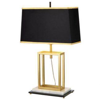 Lampa stołowa Atlas do stylowego gabinetu
