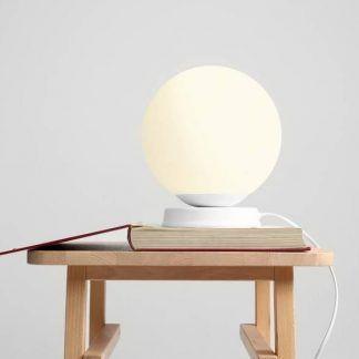 Lampa stołowa Ball do sypialni