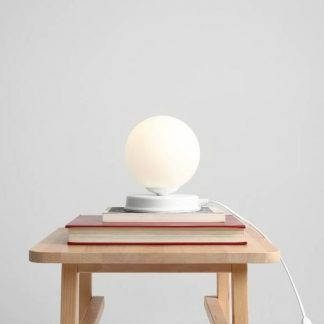 Lampa stołowa Ball na stolik do sypialni