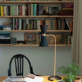 Lampa stołowa Cornet do biblioteczki