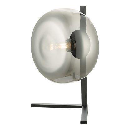 Lampa stołowa Erla do nietypowego salonu