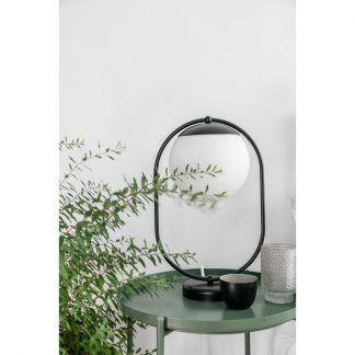 Lampa stołowa Koban ST na szafkę w sypialni