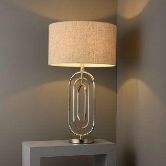 Lampa stołowa Meera do pięknej sypialni