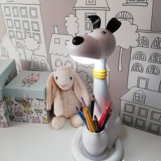 Lampa stołowa Piesek do pokoju dziecka