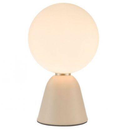 Lampa stołowa Ball na szafkę w salonie