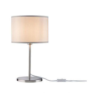 Lampa stołowa Tessa na komodę w pokoju dziennym