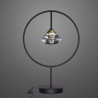 Lampa stołowa Tiffany do pięknej sypialni