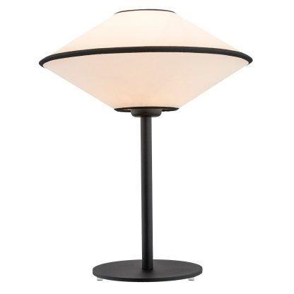 Lampa stołowa Troy na szafkę w sypialni