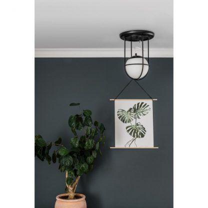 Lampa sufitowa Anga A do małego przedpokoju