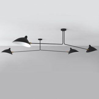Lampa sufitowa Crane do wysokiej jadalni