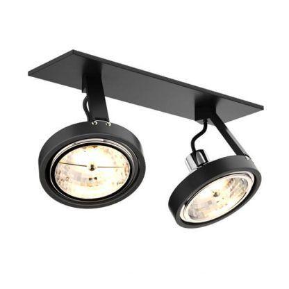 Lampa sufitowa Gino do oświetlenia lustra w przedpokoju