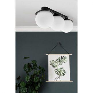 Lampa sufitowa Kuul B do małego salonu