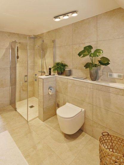 Lampa sufitowa Liao do łazienki i przedpokoju