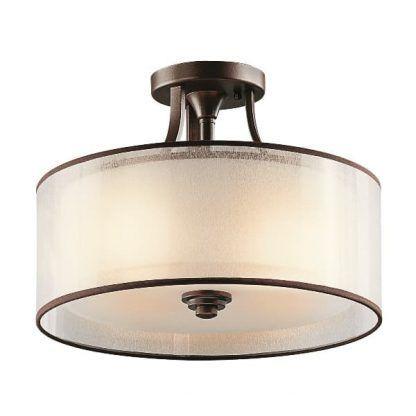Lampa sufitowa Simple do eleganckiego salonu
