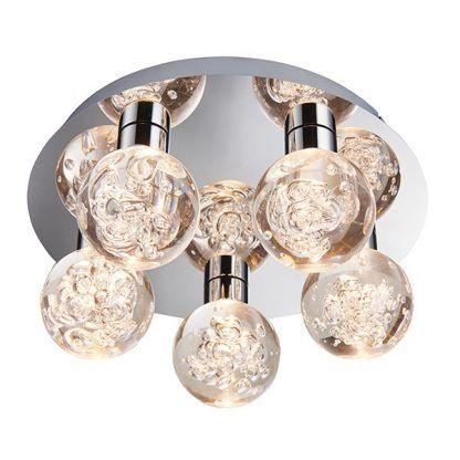 Lampa sufitowa Versa do pięknej łazienki