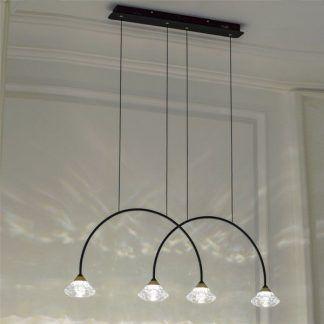 Lampa Tiffany No.3 nad stolik w salonie i jadalni