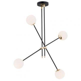 Lampa wisząca Abstract do nowoczesnej sypialni