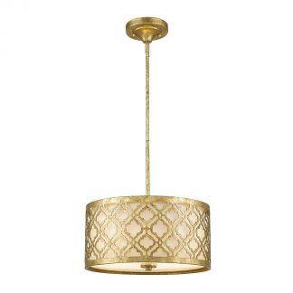 Lampa wisząca Arabella - złota