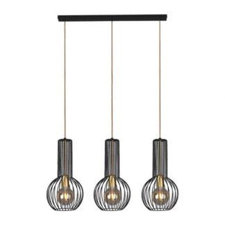 Lampa wisząca Arvi - druciana potrójna