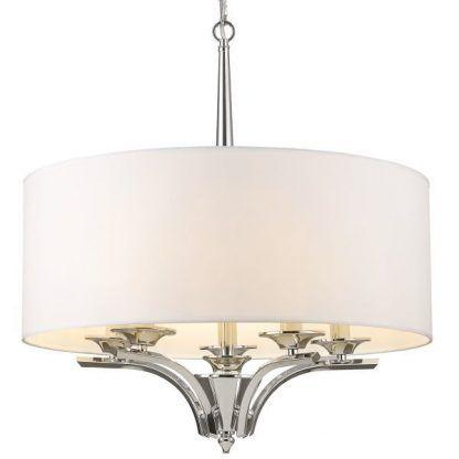 Lampa wisząca Atlanta nad stół w jadalni