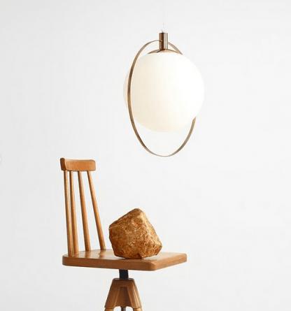 Lampa wisząca Aura do stylowego gabinetu
