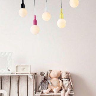 Lampa wisząca Ball do pokoju nastolatki
